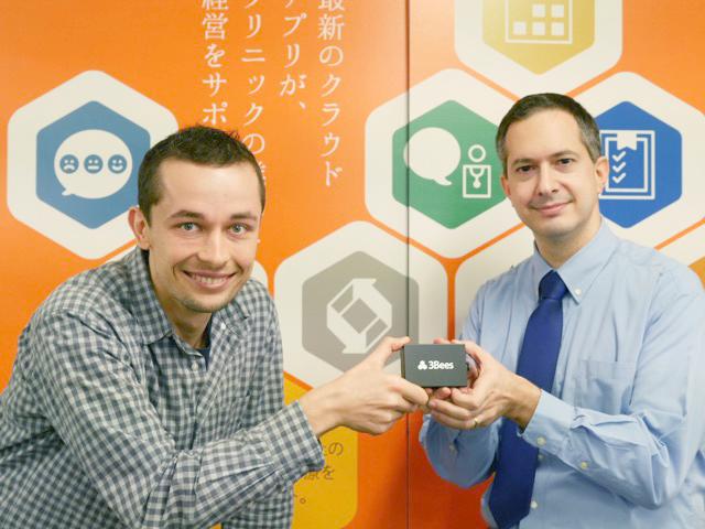 開発担当のArkadiusz TurlewiczとCTOの Yves-Eric Martin